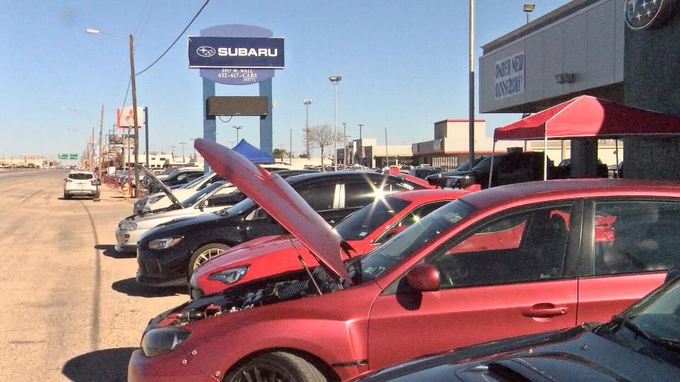 midland the subaru of odessa midland is seeing a new beginning for the dealership saturday they held a grand opening and cbs7 stopp midland subaru odessa pinterest