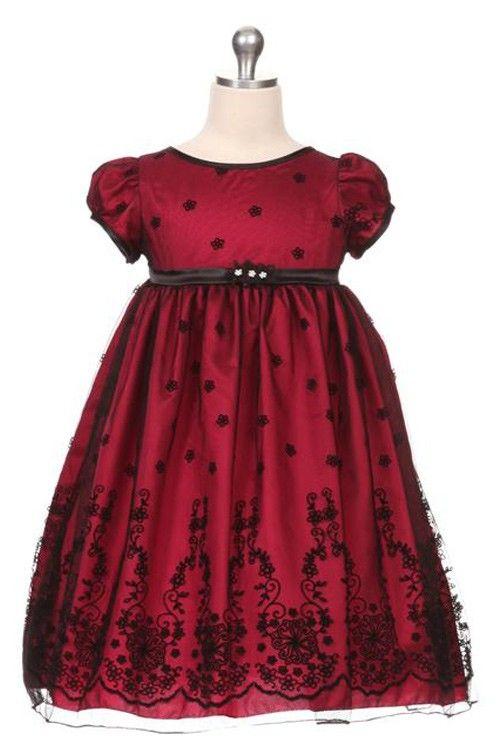 Brodert julekjole baby og barn | Våre kjoler til baby og barn | Pinterest | Baby, Dresses og ...