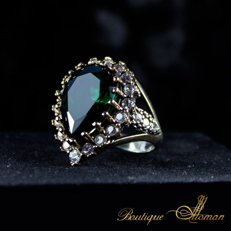 Sultana Huyam Ring By Boutique Ottoman خاتم هويام Luxury Jewelry Store Turkish Jewelry Jewelry Model