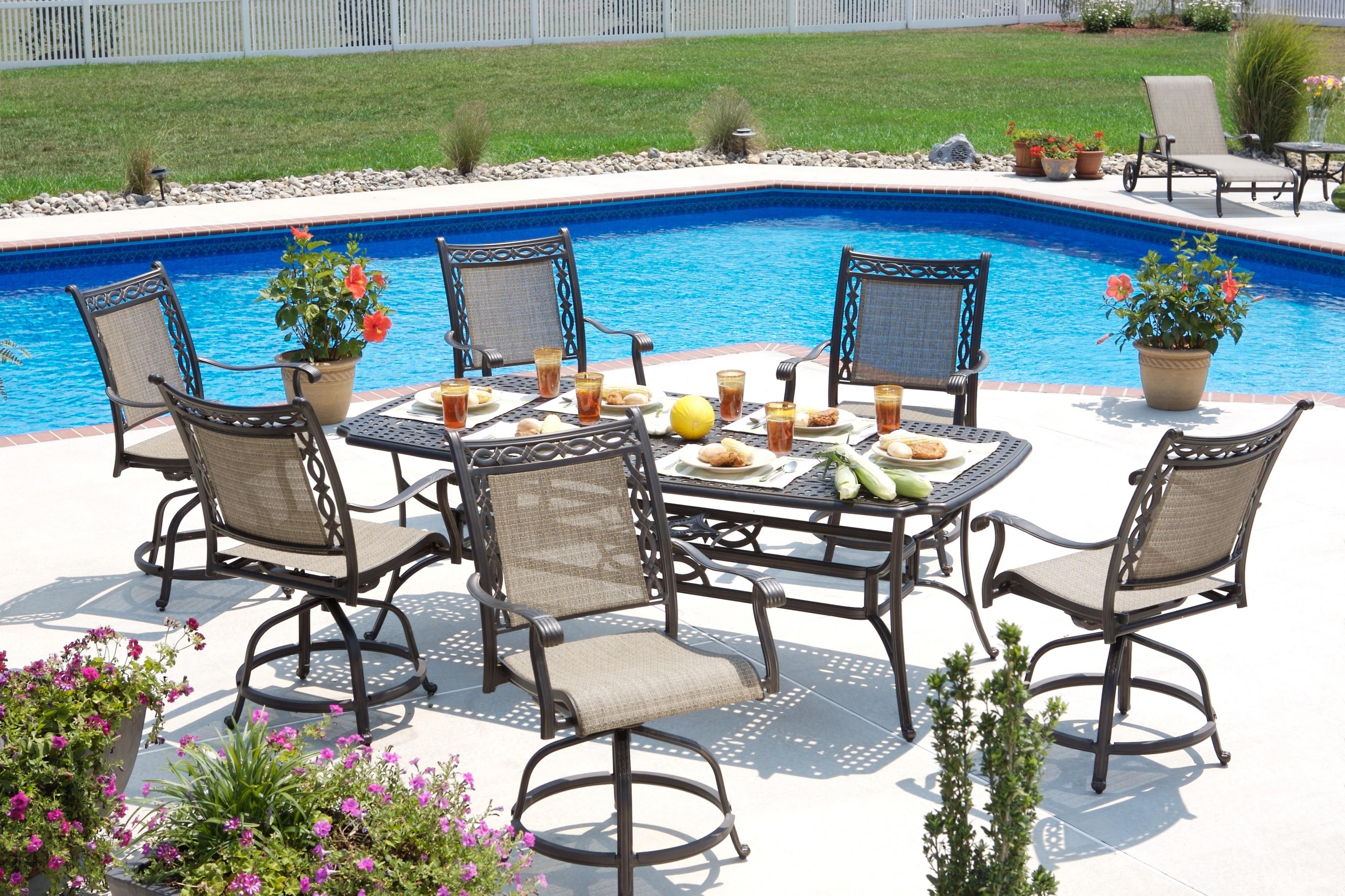 Outdoor Dining Set By Agio