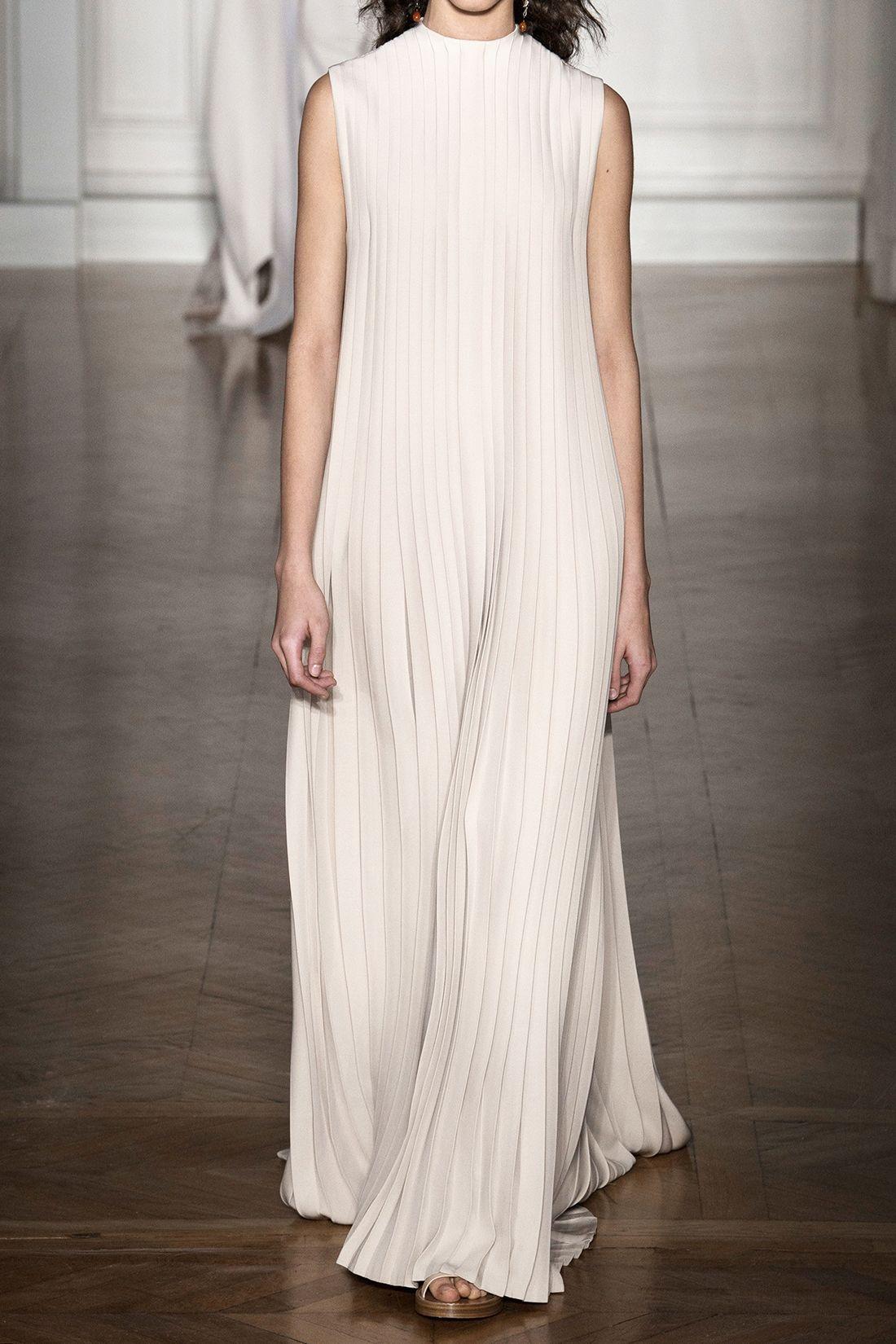 Valentino wedding dress  Great heck neck pleated Valentino gown weddingdress  Wedding