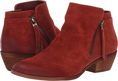 d387d8f05 Sam Edelman Womens Packer Ankle Boot Paprika Suede 105 M US -- For more  information