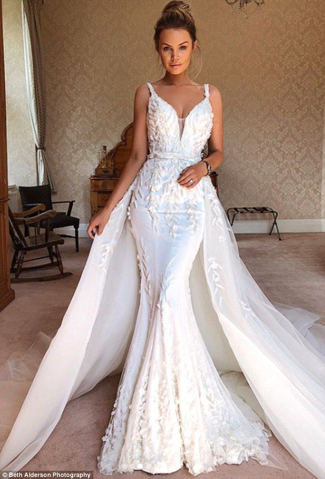 Bride SLAMMED for wearing five gowns worth $90k to her wedding