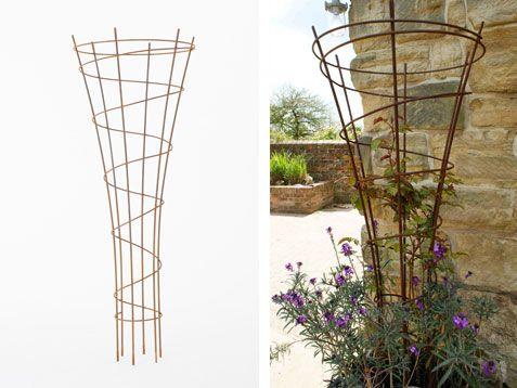 Galvanised Steel Garden Obelisks | Moore Designs
