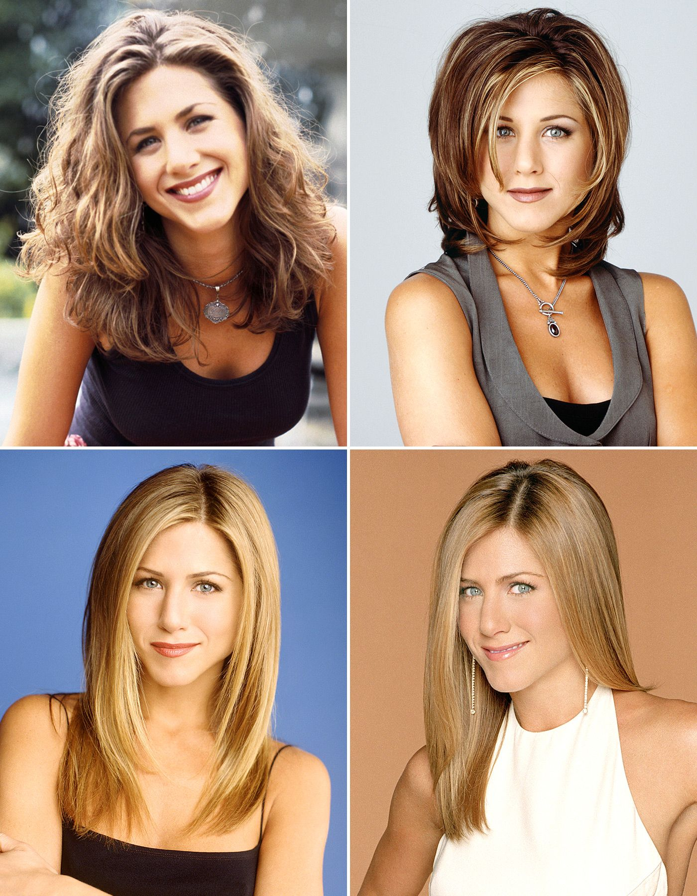 Friends Turns 20 See Rachel Green s Hairstyles Throughout the