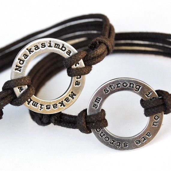 Ndakasimba Kana Makasimbawo I Am Strong If You Are Bracelet