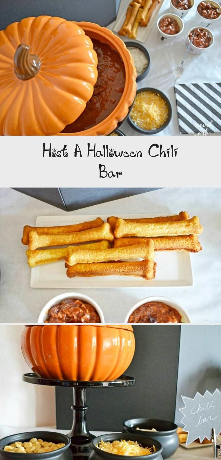 Host A Halloween Chili Bar #chilibar