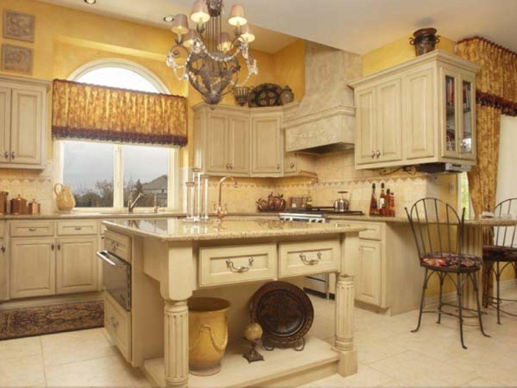 10 Cream Kitchen Backsplash Ideas 2020 Delicate And Homey Tuscan Kitchen Tuscany Kitchen Kitchen Design Styles