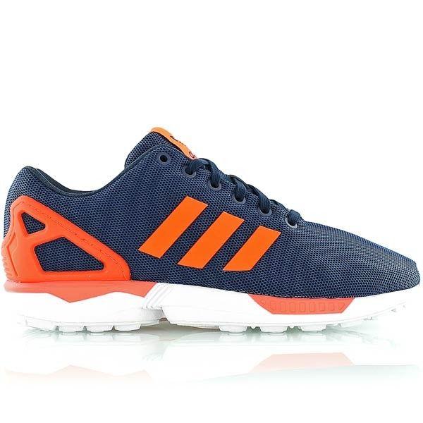 adidas zx flux homme orange fluo