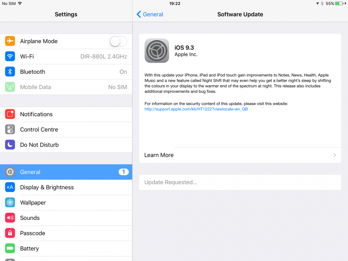 Ios 9 3 Has Given Many Iphone Ipad And Ipod Touch Owners An Unpleasant Surprise Apple Ios Human Interface Guidelines Ios Human Interface Guidelines