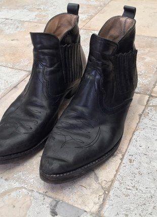 c6e4c40a1e0 Bottines noires en cuir