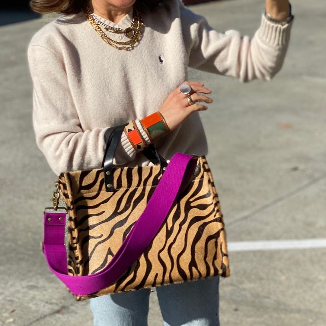 "Photo of PARKER THATCH on Instagram: ""Hey Le Tiger! They are scheduled to arrive tomorrow! So excited for them! #whynottry a great spicy animal print? #easeandelegance…"""