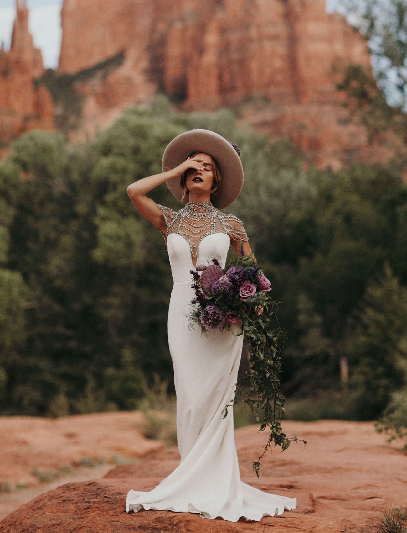 Trending Now Modern Bridal Hats For Your Wedding Day Hipster