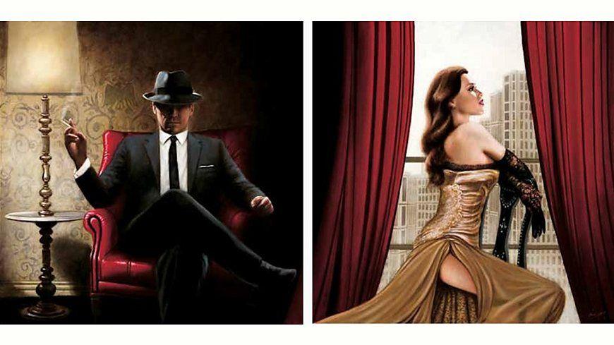 Home Affaire Bild Kunstdruck »John Silver, Black Tie, high Heels«, (2-tlg.) Jetzt bestellen unter: https://moebel.ladendirekt.de/dekoration/bilder-und-rahmen/poster/?uid=cabb7f93-a87c-595f-b2dd-2621c51bc52e&utm_source=pinterest&utm_medium=pin&utm_campaign=boards #bilder #rahmen #poster #dekoration