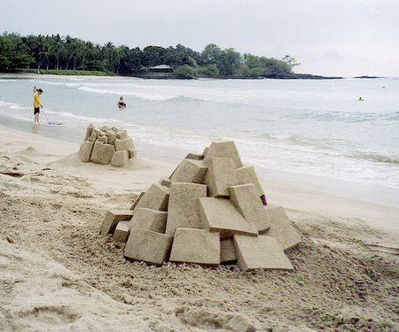 Sand Architecture by Calvin Seibert