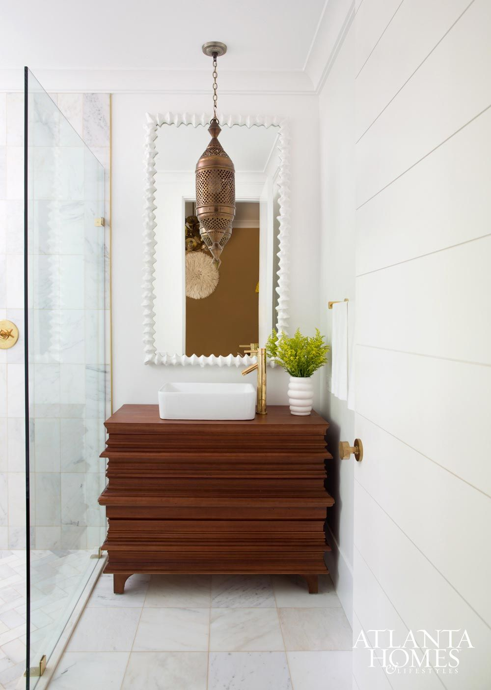 Crown Molding for Modern Bathrooms | Modern, Powder room and Zen style