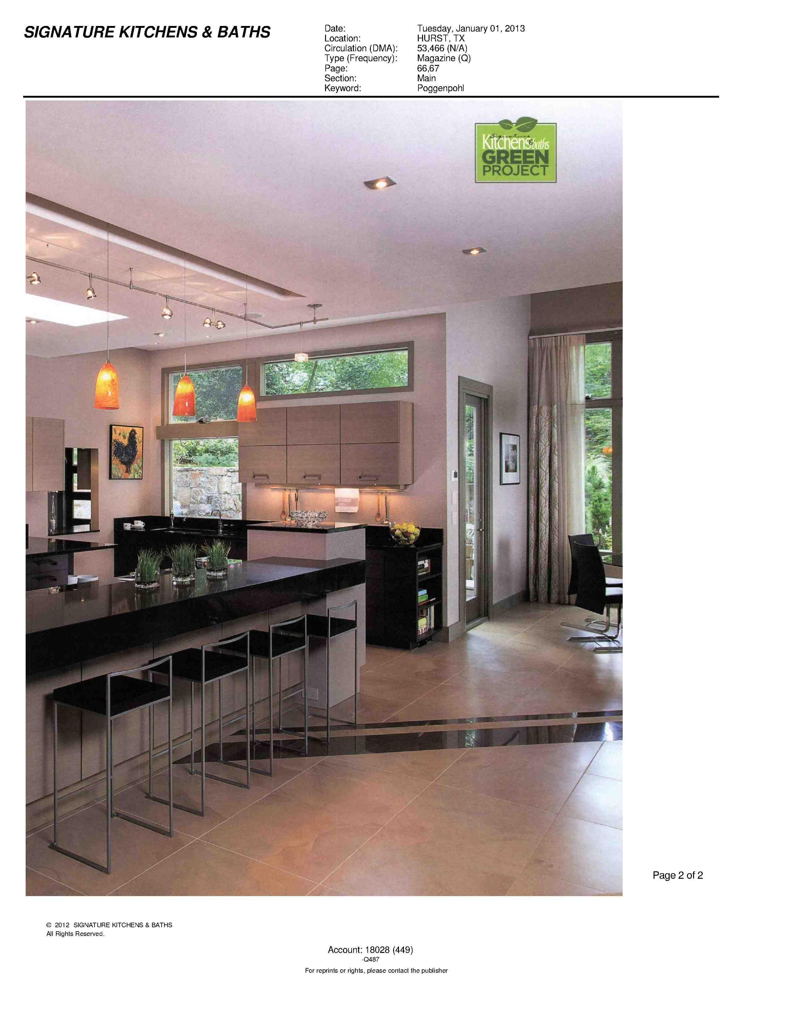 Signature Kitchens & Baths Poggenpohl Atlanta Project ...
