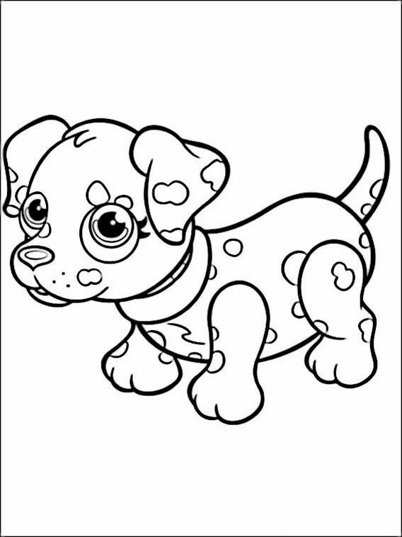 pet parade coloring pages 11