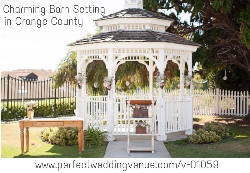 Charming Barn Wedding Ceremony in Orange County everafter