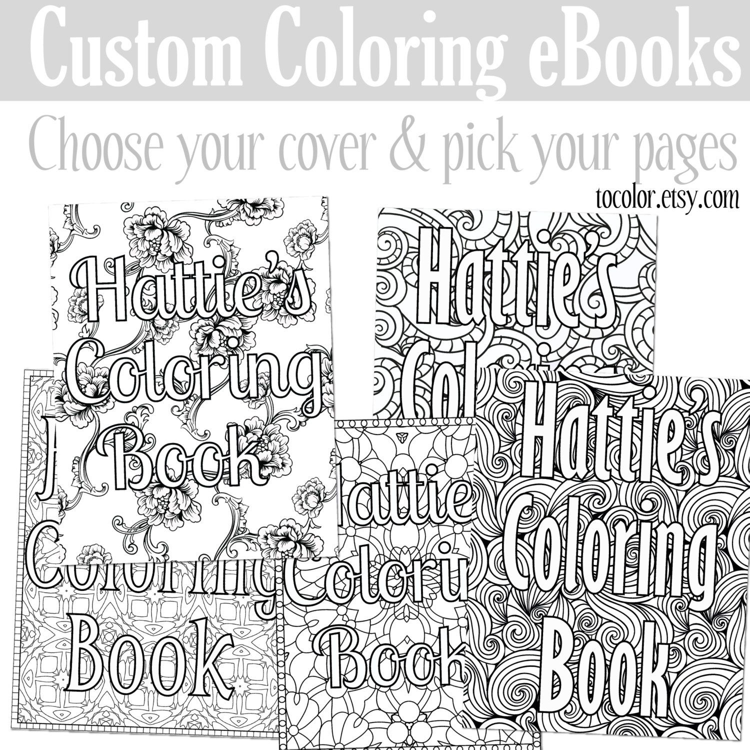 Custom Coloring Ebook Coloring Pages Create Your Own Coloring