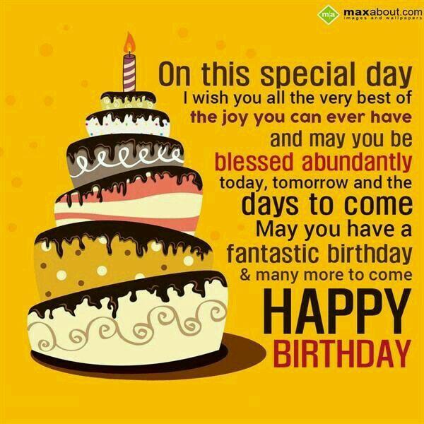 Happy Birthday Happy Birthday Pinterest Happy Happy Birthday Wish You Many More