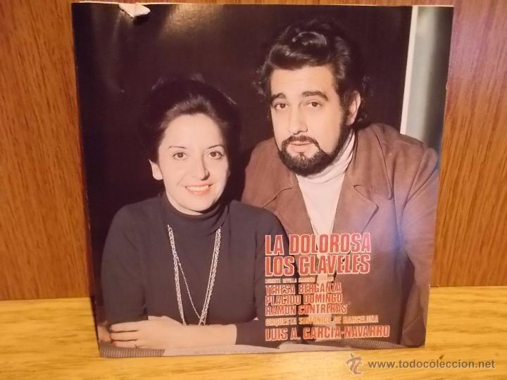 TERESA BERGANZA / PLÁCIDO DOMINGO. LA DOLOROSA / LOS CLAVELES. CD / ALHAMBRA - 1987 / CALIDAD LUJO.