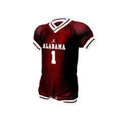 on sale 4e45a 589ec Alabama Crimson Tide Infant Football Jersey Romper | Alabama ...