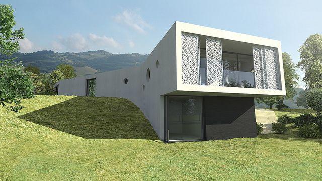 Maison D Architecte Moderne Lyon Arquitectura Contemporanea