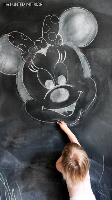 the HUNTED INTERIOR: Another Chalkboard Post...