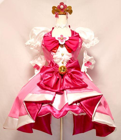 プリンセスプリキュア キュアフローラ コスプレ衣装