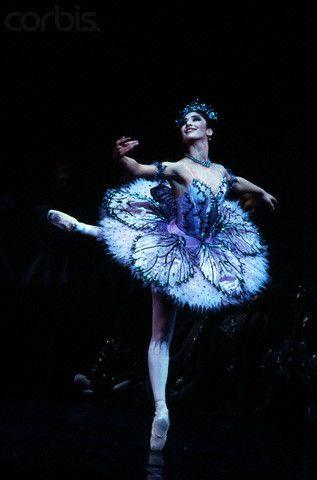Benazir Hussain in The Sleeping Beauty - The Royal Ballet; stunning...