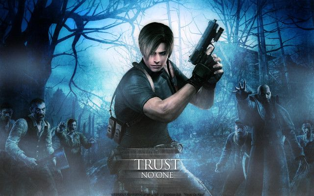 Leon Kennedy Resident Evil 4 Wallpaper Dekstop Background
