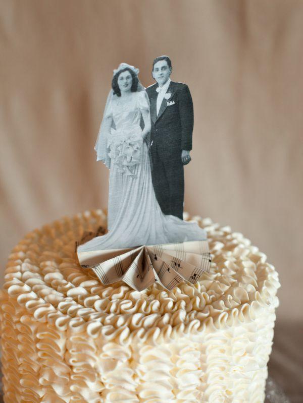 Diy Heirloom Cake Topper Mama S Birthday Ideas 50th
