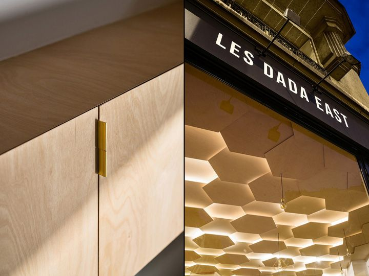 Les Dada East hair and styling salon by Joshua Florquin, Paris – France » Retail Design Blog