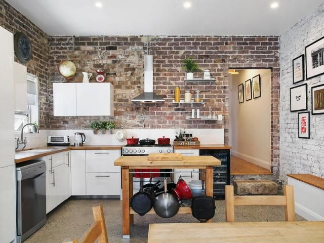 Fine New York Loft Style Kitchen House Ideas House Styles Home Interior And Landscaping Eliaenasavecom