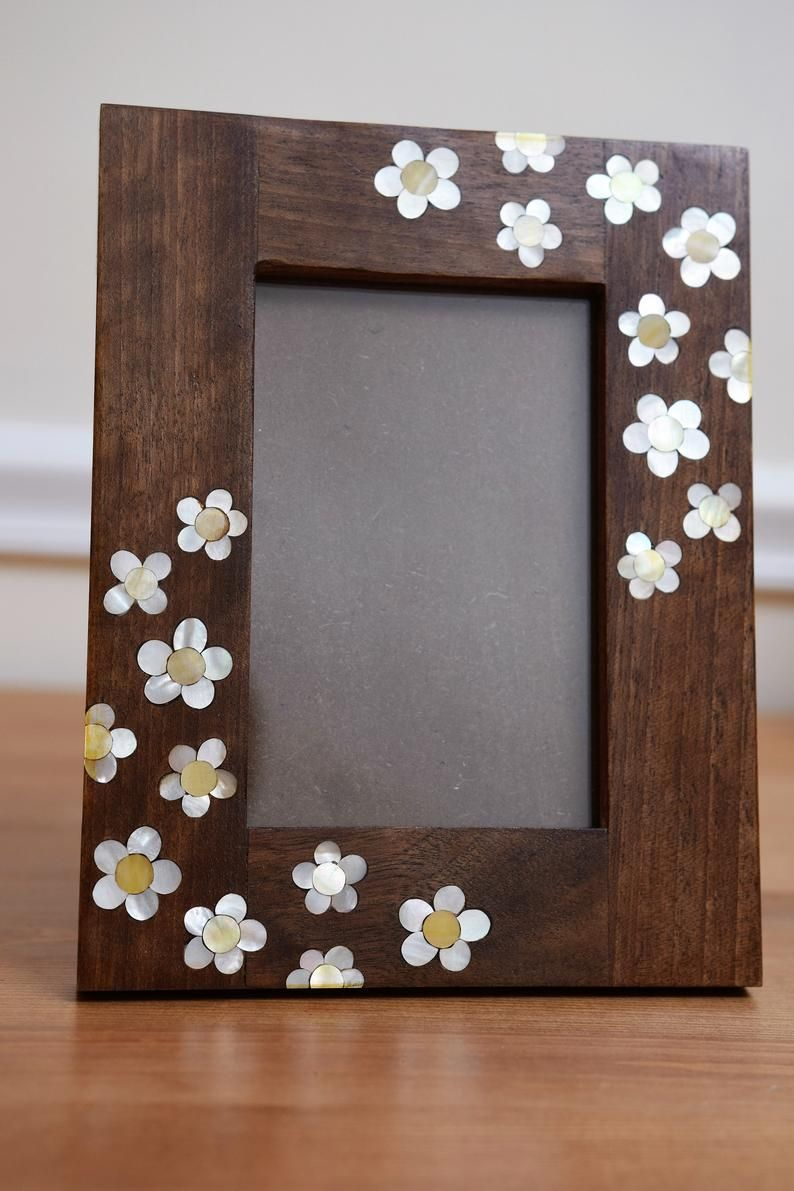 Picture Frame 11 X 9 Wooden Frames Carving Wood Photo Frame Wood Frame Wooden Home Decor Marquetry Wood Frame Mother Of Pearl Frame Photo Frame Crafts Picture Frames Simple Photo Frame