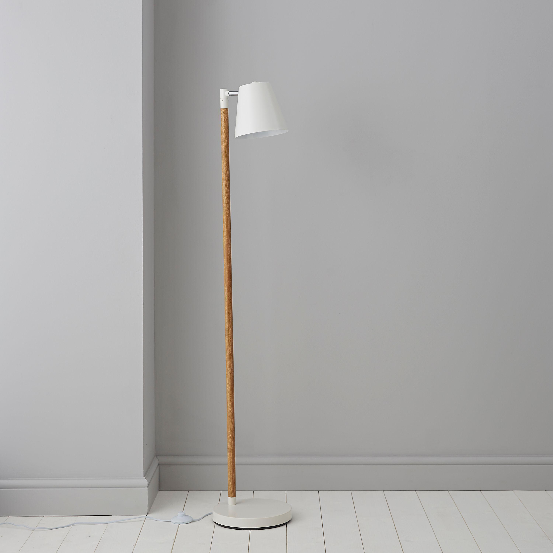 salon pie blanco lamp en productos white lamps vesper faro floor de lampara