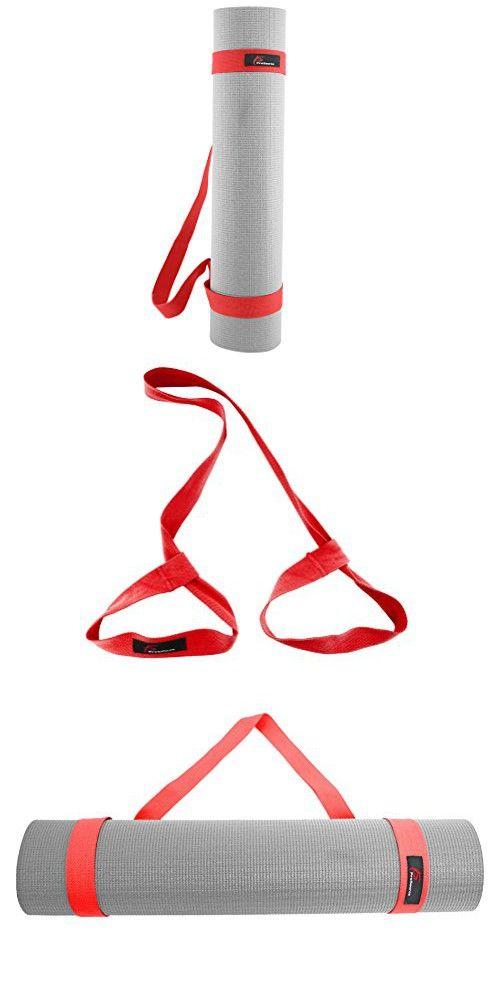 ProSource Yoga Mat Cotton Sling Carry Strap