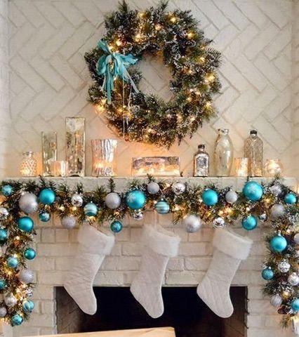 Pin by Samantha Rankin Morton on Christmas Decor Pinterest - christmas fireplace decor