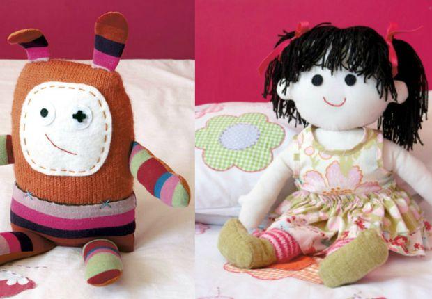 Un drôle de doudou et une poupée rigolote Cousezun drôle de doudou, ouune poupée rigolote