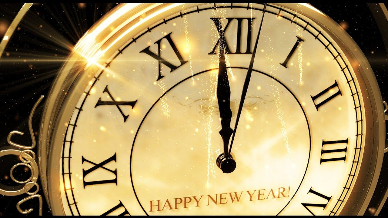 Happy New Year Clock 2019 V 473 Original Countdown Timer With Sound Effects Voice 4k Youtube Happy New Year Photo Happy New Year Happy New Year Gif