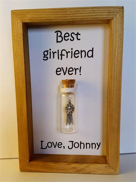 Best Girlfriend Award Gifts For Girlfriends Gift Personalised Add Names Or Your Own Message