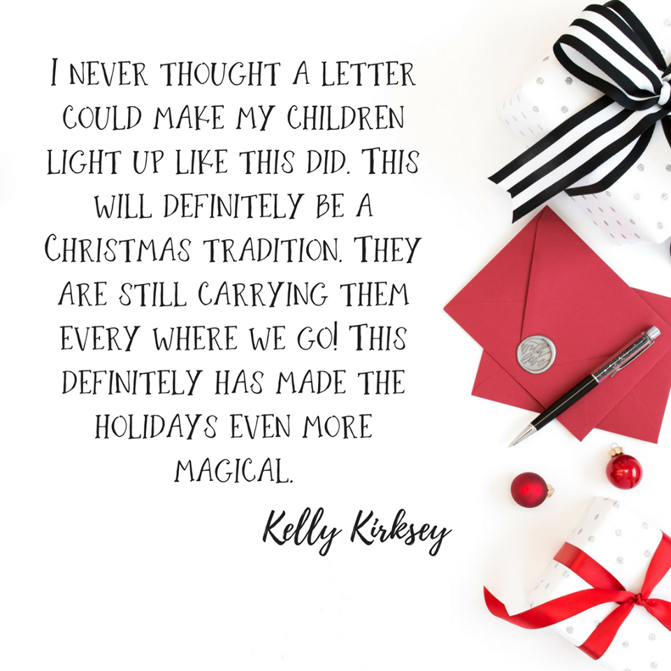 There Are Only A Few Days Left To Get Your Santa Letter OrderS In
