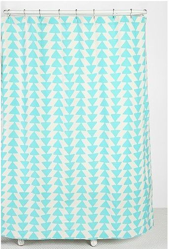 DIY Urban Outfitters Shower Curtain