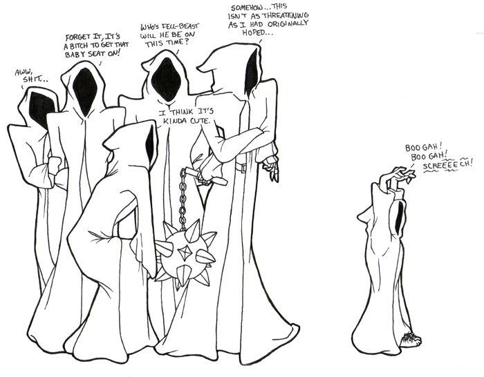 Frodo the Ringwraith by ~kishokahime on deviantART XD