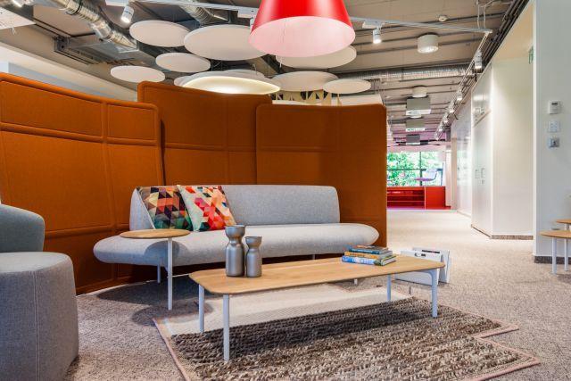 Világszínvonalú Haworth showroom a Graphisoft Parkban   design.hu