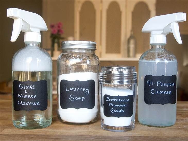 Diy Household Cleaners You Can Make In 5 Minutes Or Less