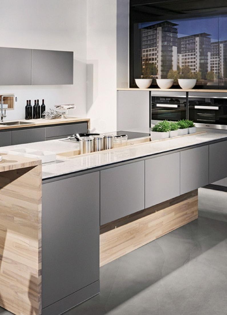 Graue Küche Die  schönsten Ideen und Bilder  Küche  Pinterest