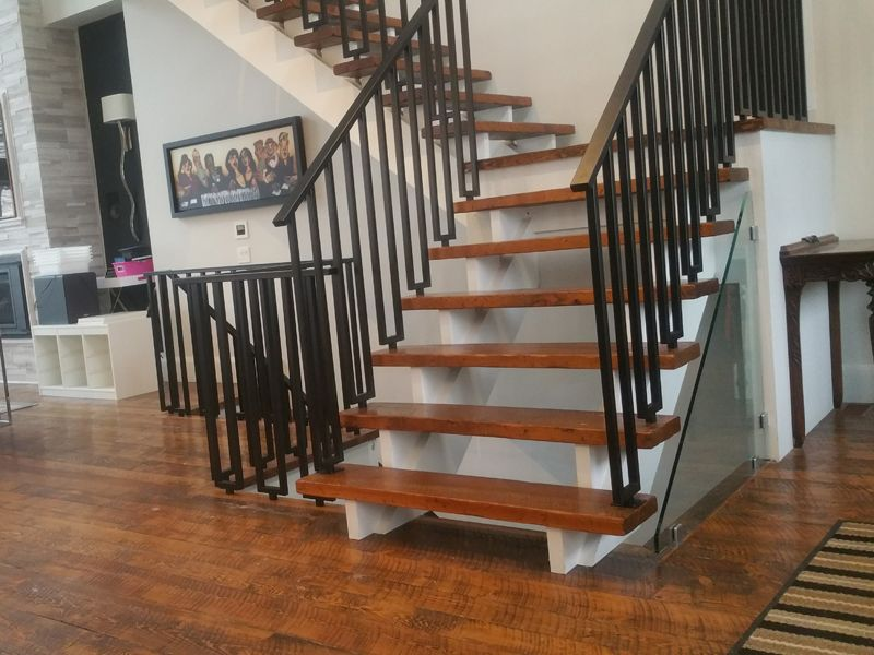 Best Pin On Stairs W Wrought Iron Spindles 640 x 480