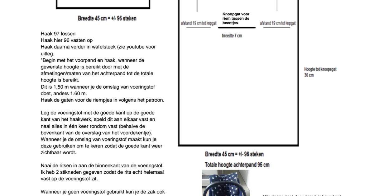 Patroon Maxi Cosi Voetenzakpdf Google Drive Crafts Pinterest